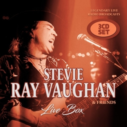 Stevie Ray Vaughan - Live Box (3 CDs)