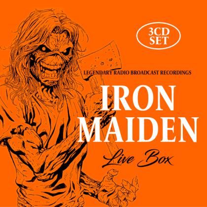 Iron Maiden - Live Box (3 CDs)