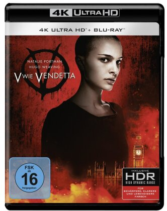 V wie Vendetta (2005) (4K Ultra HD + Blu-ray)