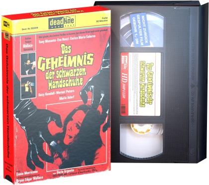 Das Geheimnis der schwarzen Handschuhe (1970) (VHS Retro Edition, Edizione Limitata, Blu-ray + DVD)