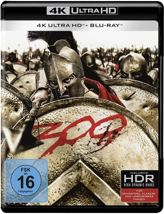 300 (2006) (4K Ultra HD + Blu-ray)