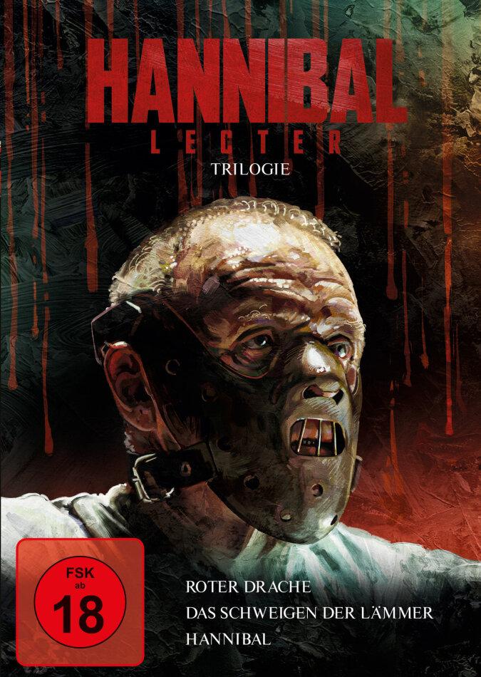 Hannibal Lecter Trilogie - Roter Drache / Das Schweigen der Lämmer / Hannibal (3 DVDs)