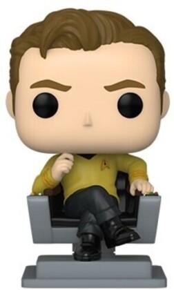 Funko Pop! Television: - Star Trek- Cap Kirk In Chair