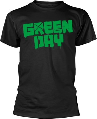 Green Day - Logo - 21St Century Breakdown (Black)