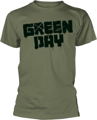 Green Day - Logo - 21St Century Breakdown (Green)