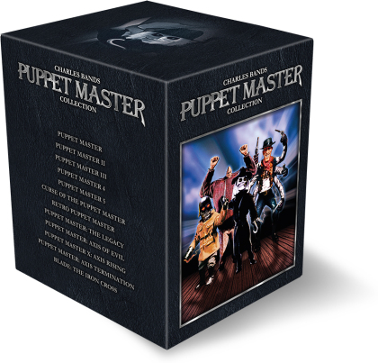 Puppet Master Collection - 11 Filme (Schuber, 9 Blu-rays)