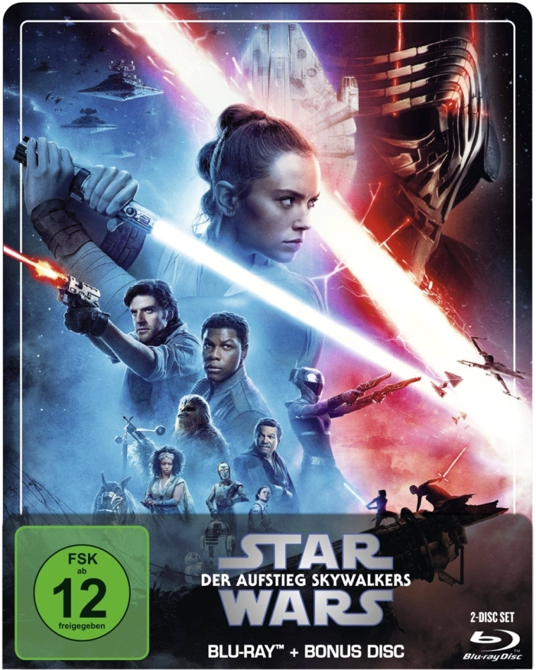 Star Wars - Episode 9 - Der Aufstieg Skywalkers (2019) (Limited Edition, Steelbook, 2 Blu-rays)
