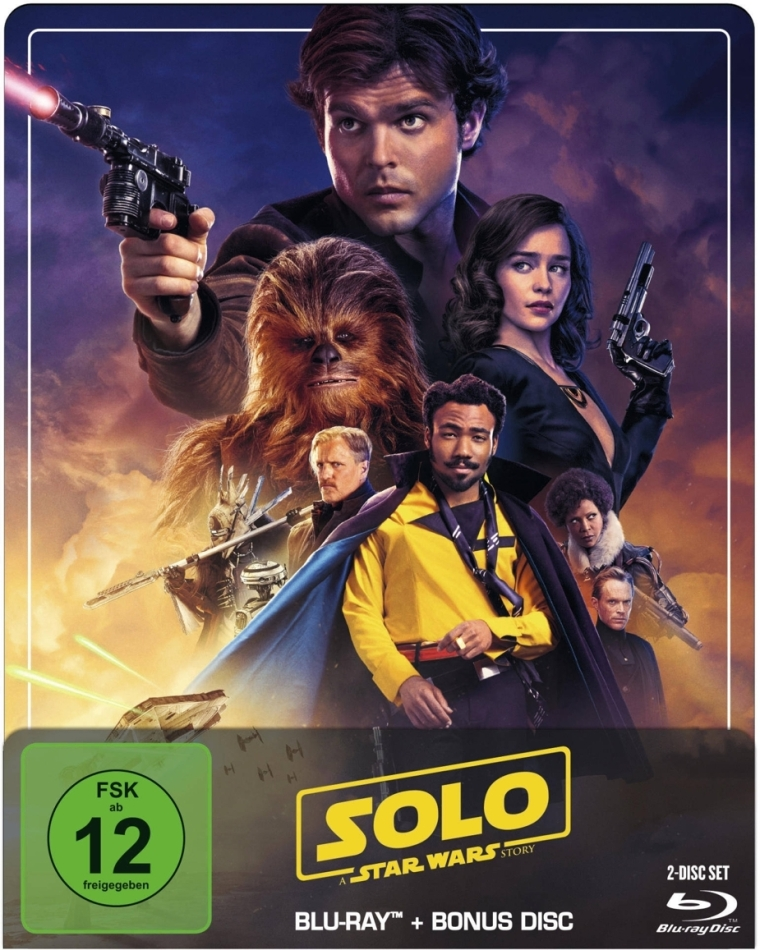 Solo - A Star Wars Story (2018) (Limited Edition, Steelbook, 2 Blu-rays)