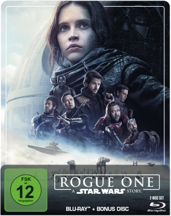 Rogue One - A Star Wars Story (2016) (Limited Edition, Steelbook, 2 Blu-rays)