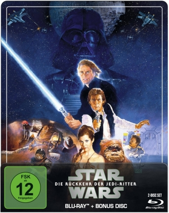 Star Wars - Episode 6 - Die Rückkehr der Jedi-Ritter (1983) (Limited Edition, Steelbook, 2 Blu-rays)