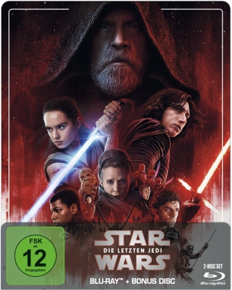 Star Wars - Episode 8 - Die letzten Jedi (2017) (Limited Edition, Steelbook, 2 Blu-rays)