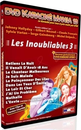 Karaoké - Karaoké Mania Vol. 7 - Les Inoubliables 2