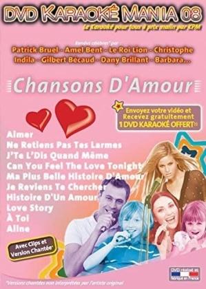 Karaoké - Karaoké Mania Vol. 8 - Chansons D'Amour