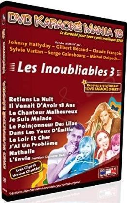 Karaoké - Karaoké Mania Vol. 16 - Les Inoubliables 3