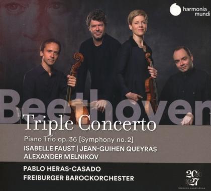 Ludwig van Beethoven (1770-1827), Pablo Heras-Casado, Isabelle Faust, Jean-Guihen Queyras, Alexander Melnikov, … - Triple Concerto