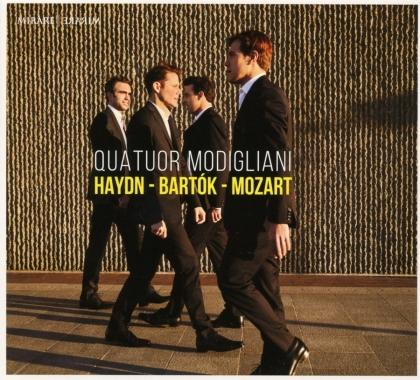 Quatuor Modigliani, Joseph Haydn (1732-1809), Béla Bartók (1881-1945) & Wolfgang Amadeus Mozart (1756-1791) - Haydn, Bartok, Mozart