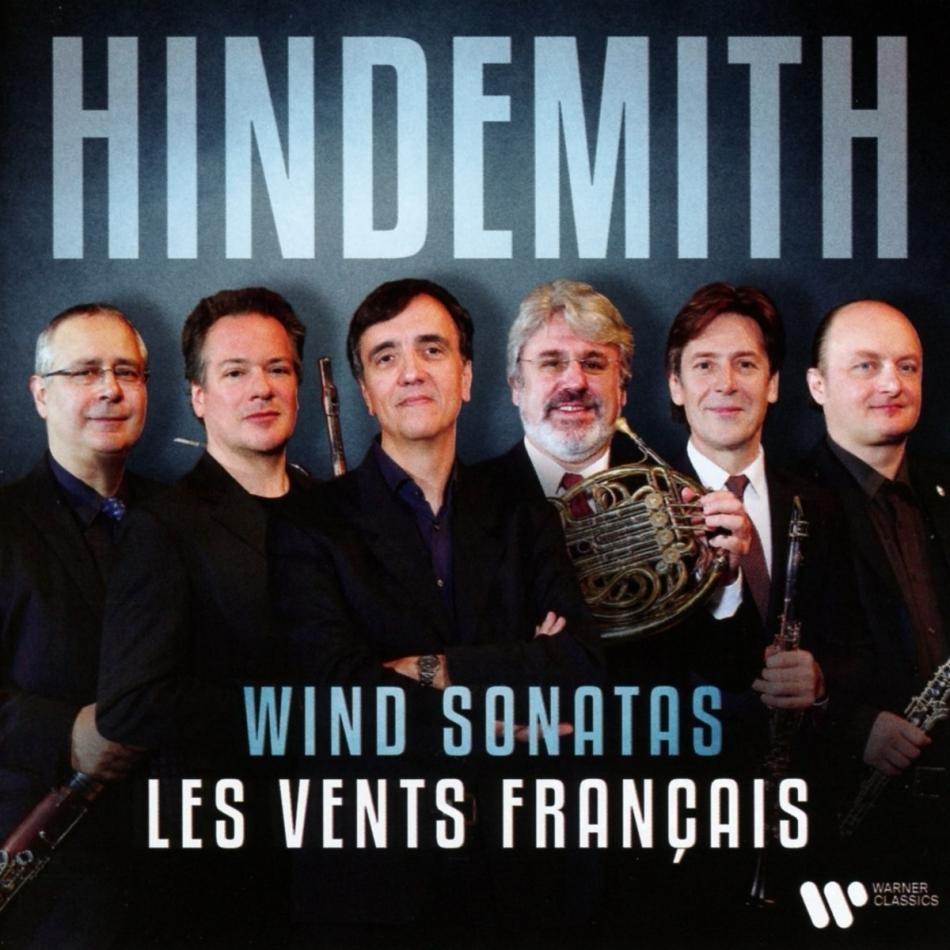 Les Vents Francais, Paul Hindemith (1895-1963) & Emmanuel Pahud - Sonaten für Bläser