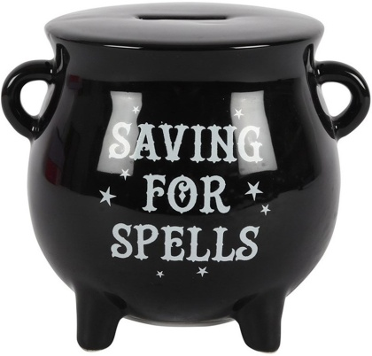 Saving for Spells Cauldron - Money Box