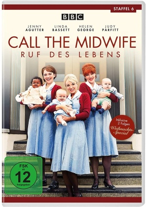 Call the Midwife - Staffel 6 (BBC, 3 DVDs)
