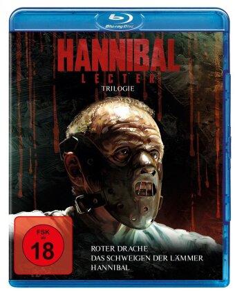Hannibal Lecter Trilogie - Das Schweigen der Lämmer / Hannibal / Roter Drache (3 Blu-rays)