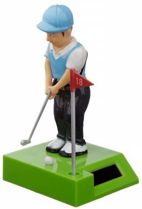 Golfspieler - Solar Wackelfigur