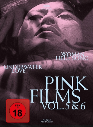 Pink Films Vol. 5 & 6 - Woman Hell Song & Underwater Love (Blu-ray + DVD)