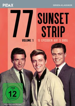 77 Sunset Strip - Vol. 1 (Pidax Serien-Klassiker, 3 DVDs)