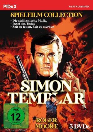 Simon Templar Spielfilm Collection - Die sizilianische Mafia / Insel des Todes / Zeit zu leben, Zeit zu sterben (Pidax-Filmklassiker, 3 DVDs)
