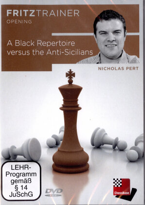 Nicholas Pert - A Black Repertoire versus the Anti-Sicilians