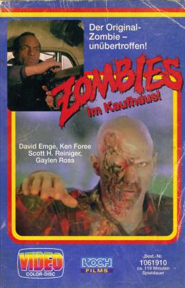 Zombies im Kaufhaus! (1978) (VHS Retro Edition, Argento Fassung, Limited Edition, Uncut, 4K Ultra HD + 3 Blu-rays)