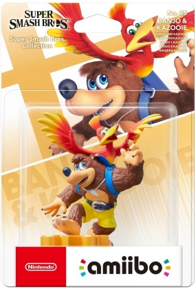 amiibo Banjo & Kazooie - Super Smash Bros. Collection