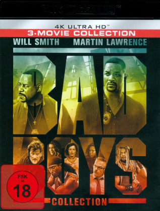 Bad Boys Collection - 3-Movie Collection (3 4K Ultra HDs)