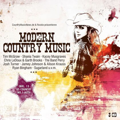 Modern Country Music (3 CDs)