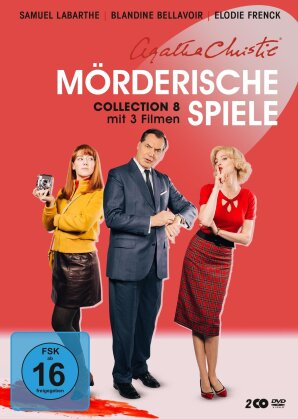 Agatha Christie - Mörderische Spiele - Collection 8 (2 DVDs)