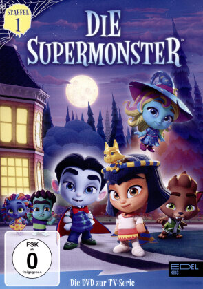 Die Supermonster - Staffel 1 (2 DVDs)