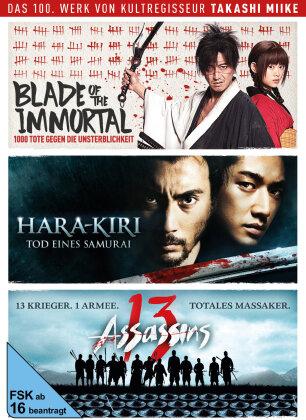 Takashi Miike Box - Blade of the Immortal / Hara-Kiri: Tod eines Samurai / 13 Assassins (3 DVDs)