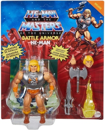 Masters Of The Universe - Motu Origins Battle Armor He Man Action Figure
