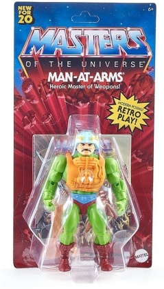 Masters Of The Universe - Motu Origins Man At Arms Action Figure