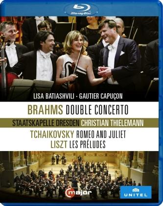Liszt / Thielemann / Staatskapelle Dresden - Lisa Batiashvili Gautier Capu