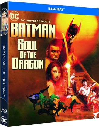 Batman : Soul of the Dragon - DC Universe Movie (2021) (Limited Edition, Steelbook)