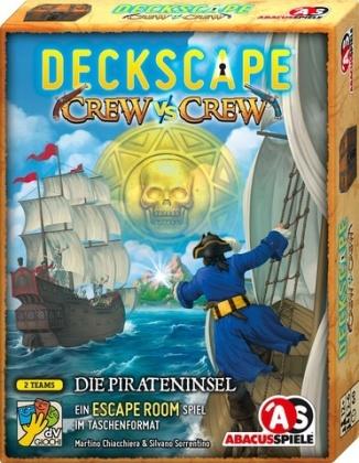 Deckscape - Crew vs Crew - Die Pirateninsel