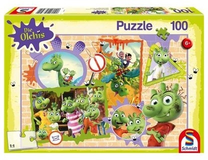 Die Olchis: Olchige Freunde - 100 Teile Puzzle