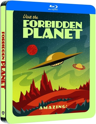 Forbidden Planet - Planète interdite (1956) (Limited Edition, Steelbook)