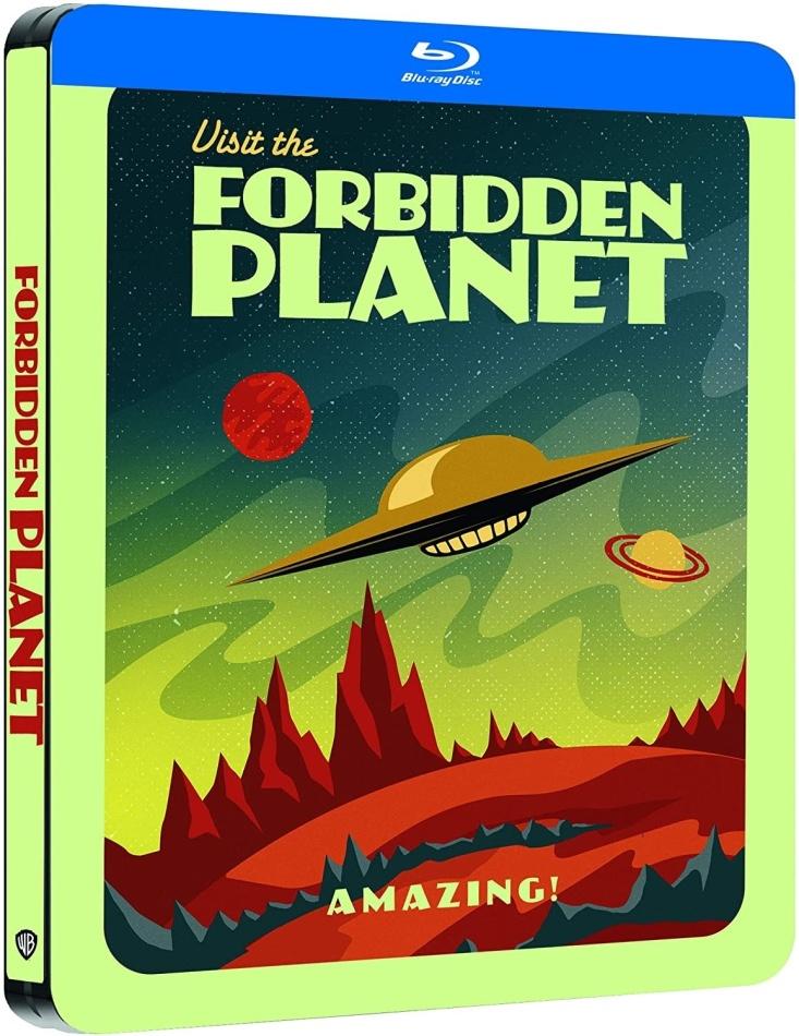 Forbidden Planet - Planète interdite (1956) (Limited Edition, Steelbook)