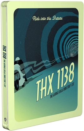 THX 1138 (1971) (Limited Edition, Steelbook)