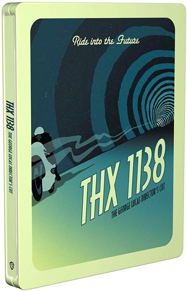 THX 1138 (1971) (Director's Cut, Limited Edition, Steelbook)