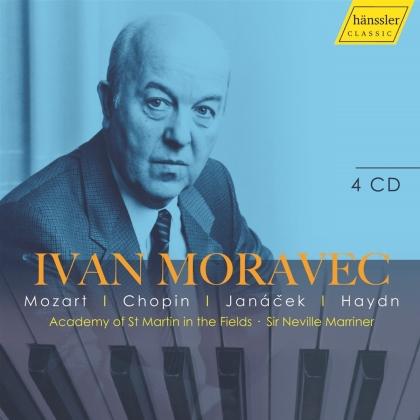 Wolfgang Amadeus Mozart (1756-1791), Frédéric Chopin (1810-1849), Leos Janácek (1854-1928), Joseph Haydn (1732-1809), Sir Neville Marriner, … - Ivan Moravec Edition (4 CDs)
