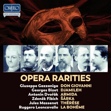 Giuseppe Gazzaniga (1743-1818), Georges Bizet (1838-1875), Antonin Dvorák (1841-1904), Zdenek Fibich (1850-1900), Jules Massenet (1842-1912), … - Opera Rarities - Don Giovanni, Djamileh, Armida - Sarka, Thérèse, La Boème (10 CDs)