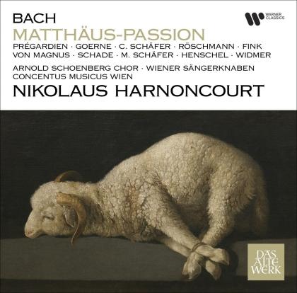 Concentus Musicus Wien, Johann Sebastian Bach (1685-1750) & Nikolaus Harnoncourt - Matthäus-Passion (2021 Reissue, 3 CDs)