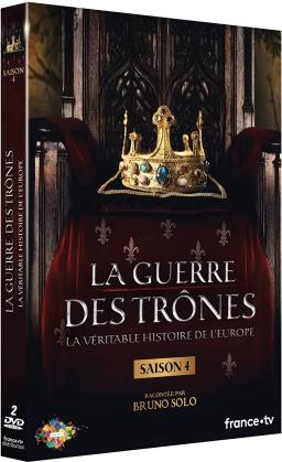 La guerre des trônes - La véritable histoire de l'Europe - Saison 4 (2 DVDs)